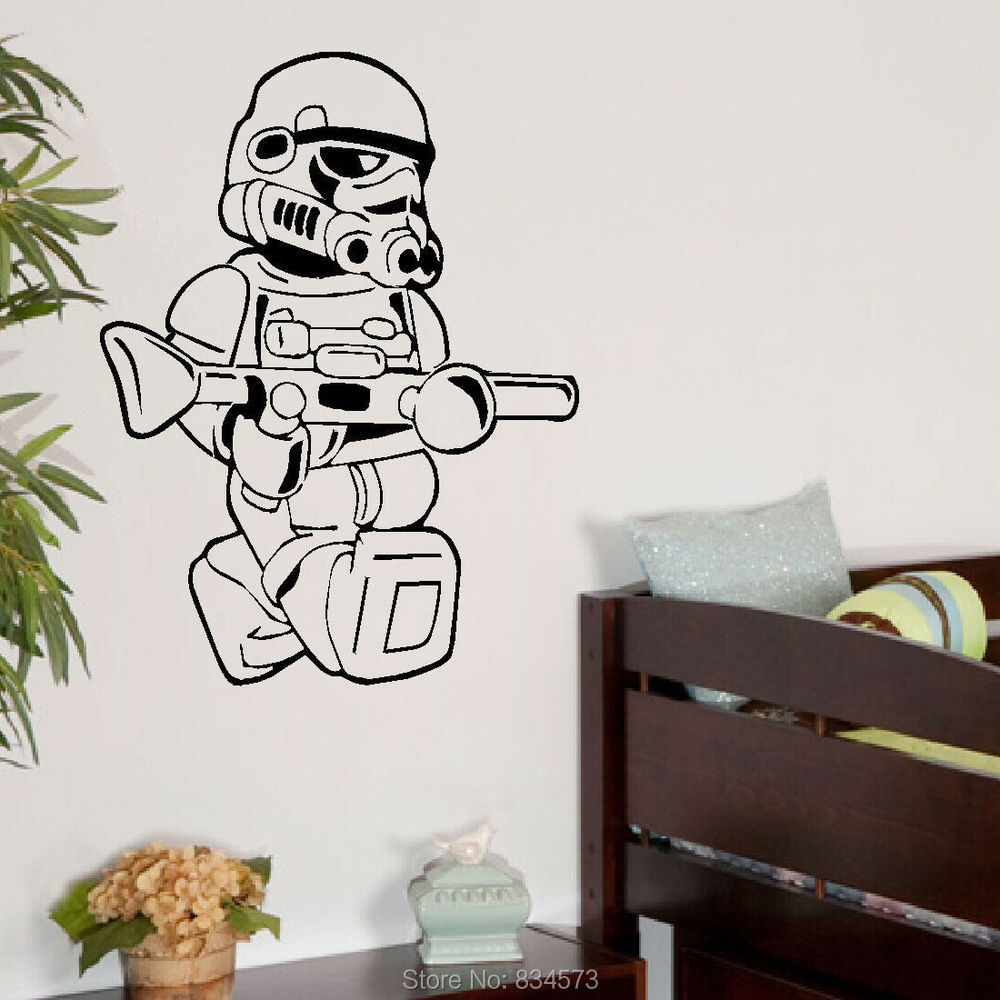 Great Awesome Lego Star Wars Wall Stickers Good Ideas