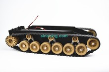 Damping Balance Tank Robot Chassis Platform with High power Remote Control DIY Crawler Shock Absorption for Arduino DIY RC Toy