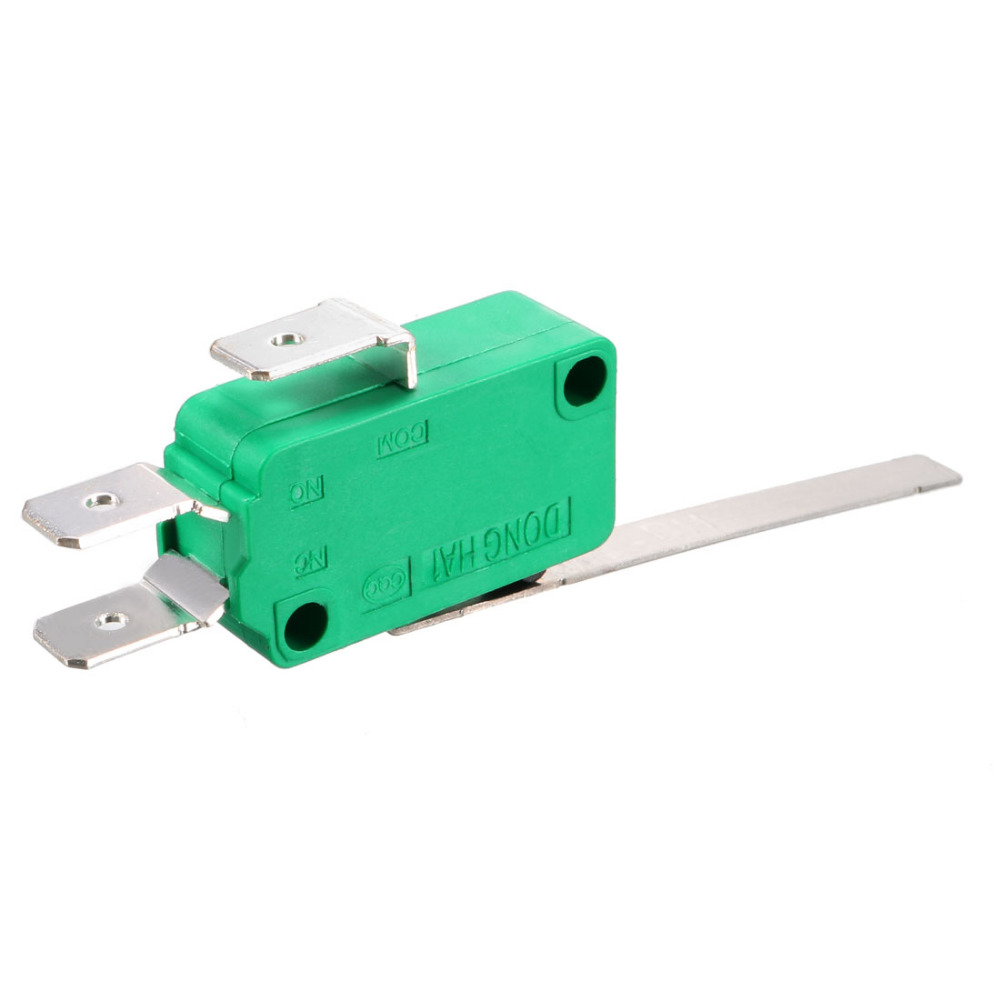 5pcs KW4-3Z-3 SPDT NO NC Momentary Hinge Lever Limit Switch Microswitch WL