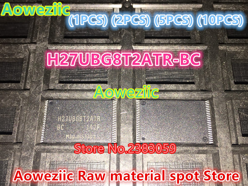 Aoweziic   100%  new original   H27UBG8T2ATR-BC  integrated flash TSOP48 chip  H27UBG8T2ATR BC