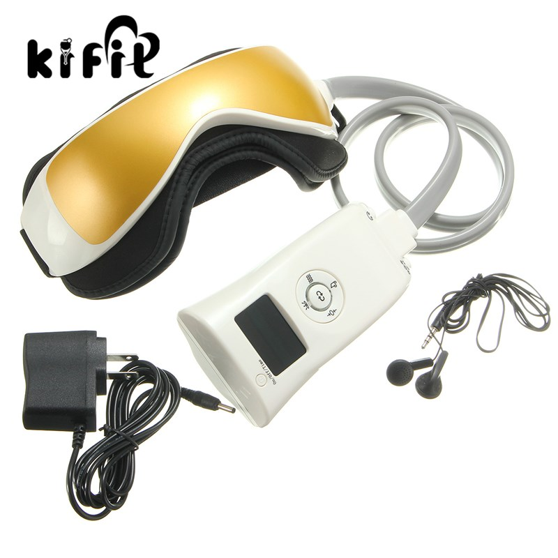 KIFIT Infrared Heater Electric Eye Health Magnetic Alleviate Fatigue Eye Care Relax Massager Forehead Magnetic Treatment abs electric eye care massager magnetic therapy vibration alleviate fatigue dark circles alleviate massage healthy care