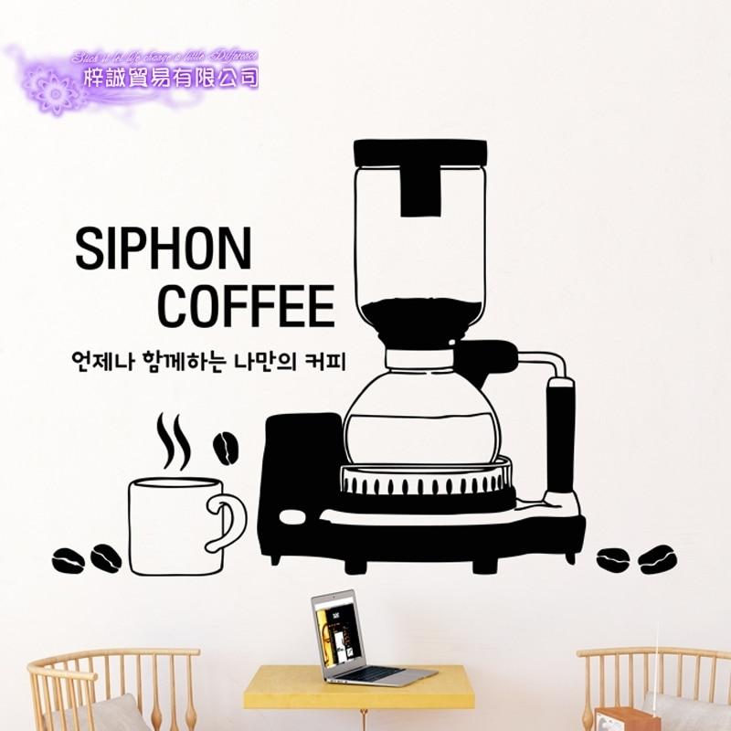 Aliexpress Com Buy Dctal Coffee Sticker Coffee Machine