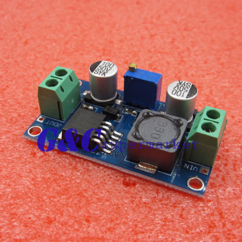XL6019 5A Current DC to DC Adjustable Boost Power Supply Board Module