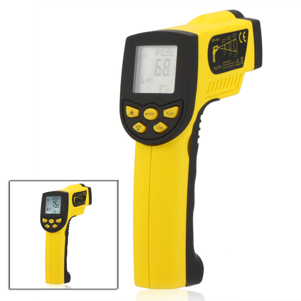 HoldPeak HP 1300C Infrared IR Thermometer Laser Temperature Gun Sensor  Meter thermometre infrarouge termometro infravermelho-in Temperature  Instruments from ... cd4e57d4c71b8