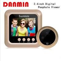 DANMINI W5 2 4inch Digital Peephole Viewer 2 0MP Wireless Video Eye Doorbell 160 Degrees Video