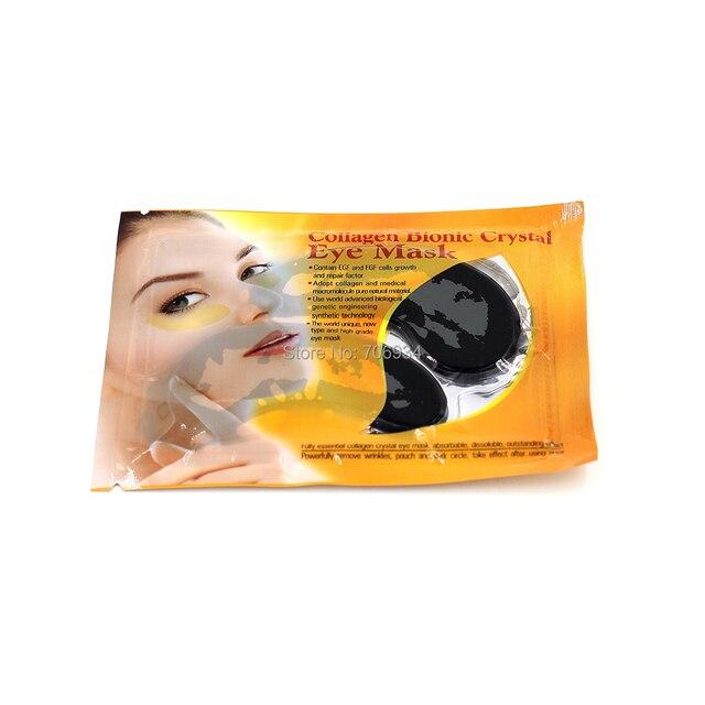Маска для глаз 10 пар коллагена черная маска бионический для глаз кристалл содержат эфр и FGF коллаген маска