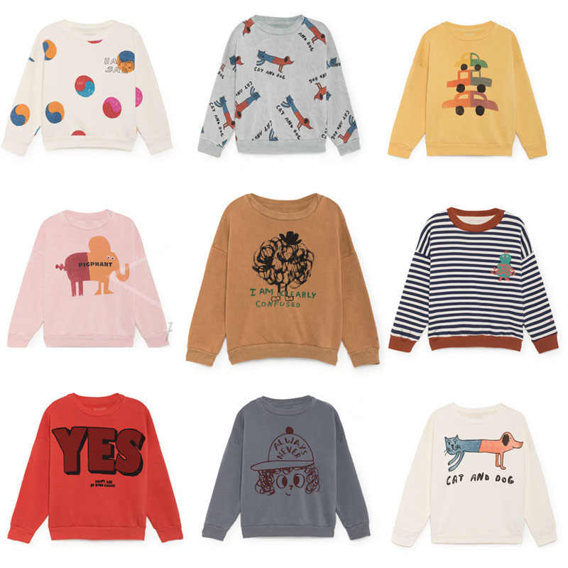 3c2da3c04262 Kids Sweatshirts Baby Girls Clothes Long Sleeve Tops T-shirt Boys Cartoon  Printed Sweatshirt Bobo