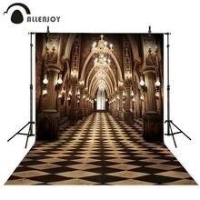 Fondo de palacio de lujo vintage Allenjoy para sala de estudio fotográfico FONDO DE BODA interior cabina de foto sesión fotográfica utilería para sesión fotográfica