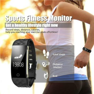 Image 2 - New Sport Smart Bracelet Heart Rate Monitor IP67 Fitness Bracelet Tracker Smart Wristband Bluetooth For Android IOS PK 115plus