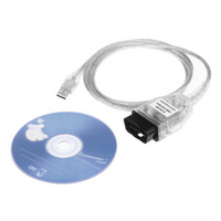 Auto-diagnosewerkzeug INPA K + CAN Usb-schnittstelle Kabel Diagnosekabel Überprüfen Linie INPA Kompatibel Mit CD Für BMW