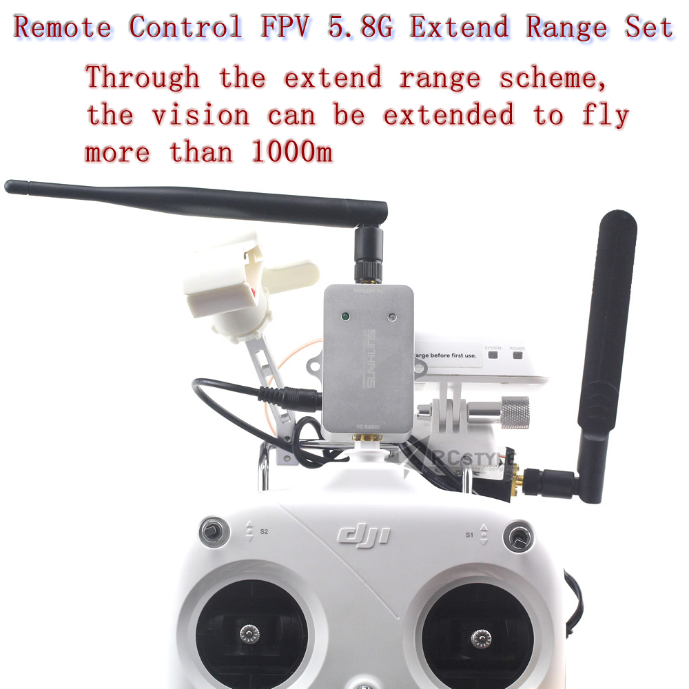 medium resolution of dji phantom 2 vision remote control fpv 5 8 g extend range set on aliexpress com alibaba group