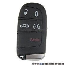 M3N-40821302 Умный оболочки ключ крышка 5 кнопка для Chrysler 300 Dodge Charger Dart 2011 2012 2013 2014 remtekey