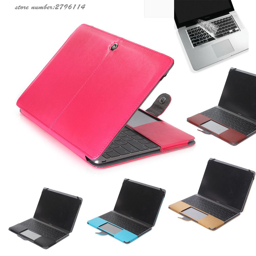 Laptop Bag Cover Leather Sleeve Case For MacBook Air Pro Retina 11 12 13 15