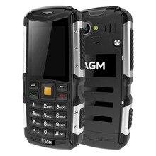 Оригинал AGM M1 2.0 «IP68 Водонепроницаемый мобильный телефон пыле ударопрочный открытый телефон прочный Dual SIM 3 г WCDMA MP3 сотовом телефоне