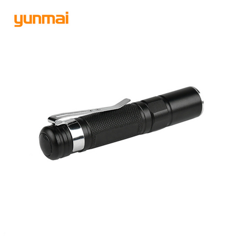 High Quality Portable Flashlight YUNMAI Brand 1 Mode Waterproof Mini LED Flashlight Variable LED Flashlight for Hiking camping