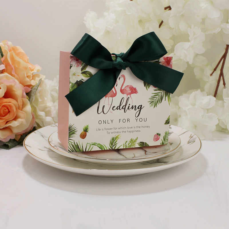 5 шт. высококлассные европейские Famingos конфеты мешок французский спасибо свадебный подарок коробка пакет день рождения любимые пакеты
