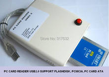 USB to PCMCIA PC card reader 68 pin suport PCMCIA, Flashdisk ., PC ATA card, ATA Flash storage,SD to PCMCIA, CF to Pcmcia