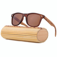 Handmade Luxury Bamboo Sunglasses Women Men Brand Designer Vintage Sport Wood Sun Glasses Oculos De Sol Feminino UV400 LS5003