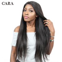 Яки прямой парик 250% плотность Синтетические волосы на кружеве натуральные волосы парики предварительно сорвал для Для женщин бразильский