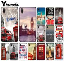 Yinuoda London big ben Bus Customer High Quality Phone Case for ViVo X 23 X 21 X 21 UD X9 X9S X9S Plus Mobile Cases(China)