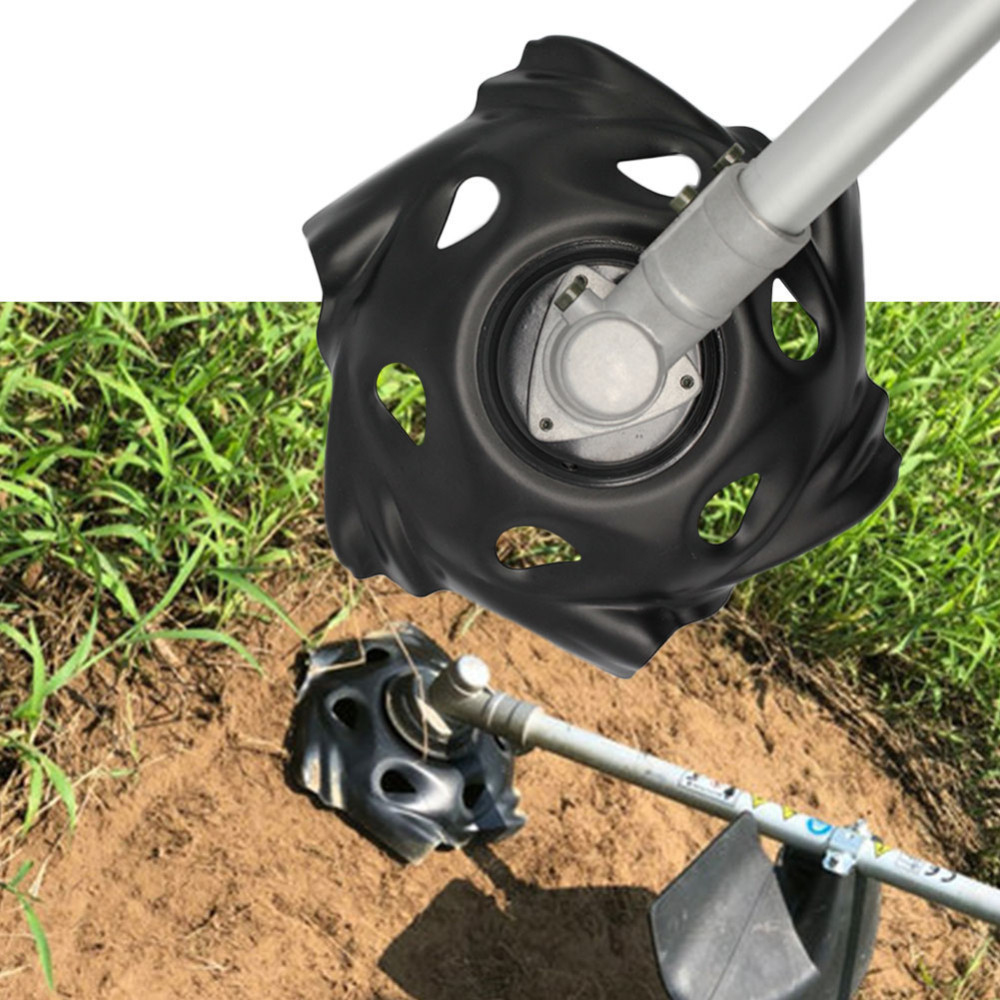 Metal Grass Mowing Lawnmower Weeding Tray Trimmer Head Machine Accessories Garden Power Tool Lawn Mower Parts Black