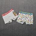 Roupas Infantis Marca Navidad Niños Escritos Bebé Muchachos Niño Historieta de Los Bebés de Diseño de Ropa Interior Calzoncillos Bragas Calzoncillos