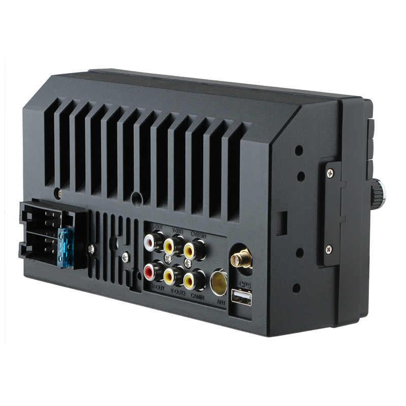 """2 din カーラジオの Gps ナビゲーションプレーヤー MP5 7 """"HD タッチスクリーンの Bluetooth の Usb AUX MP4 マルチメディア 2din Autoradio リアビューカメラ"""