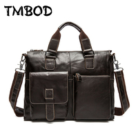 Hot 2018 cowhide men briefcase design casual genuine leather handbags male messenger bags vintage crossbody shoulder bag an994
