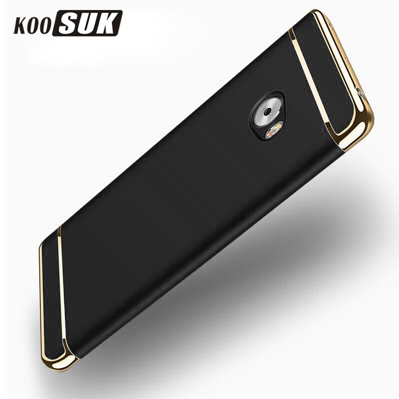 For Xiaomi Mi Note 2 Case Mi Note2 Bags Cover 3 in 1 Luxury Plating Ultra Thin Protective Phone Back Cases For XiaomiNote2 Coque