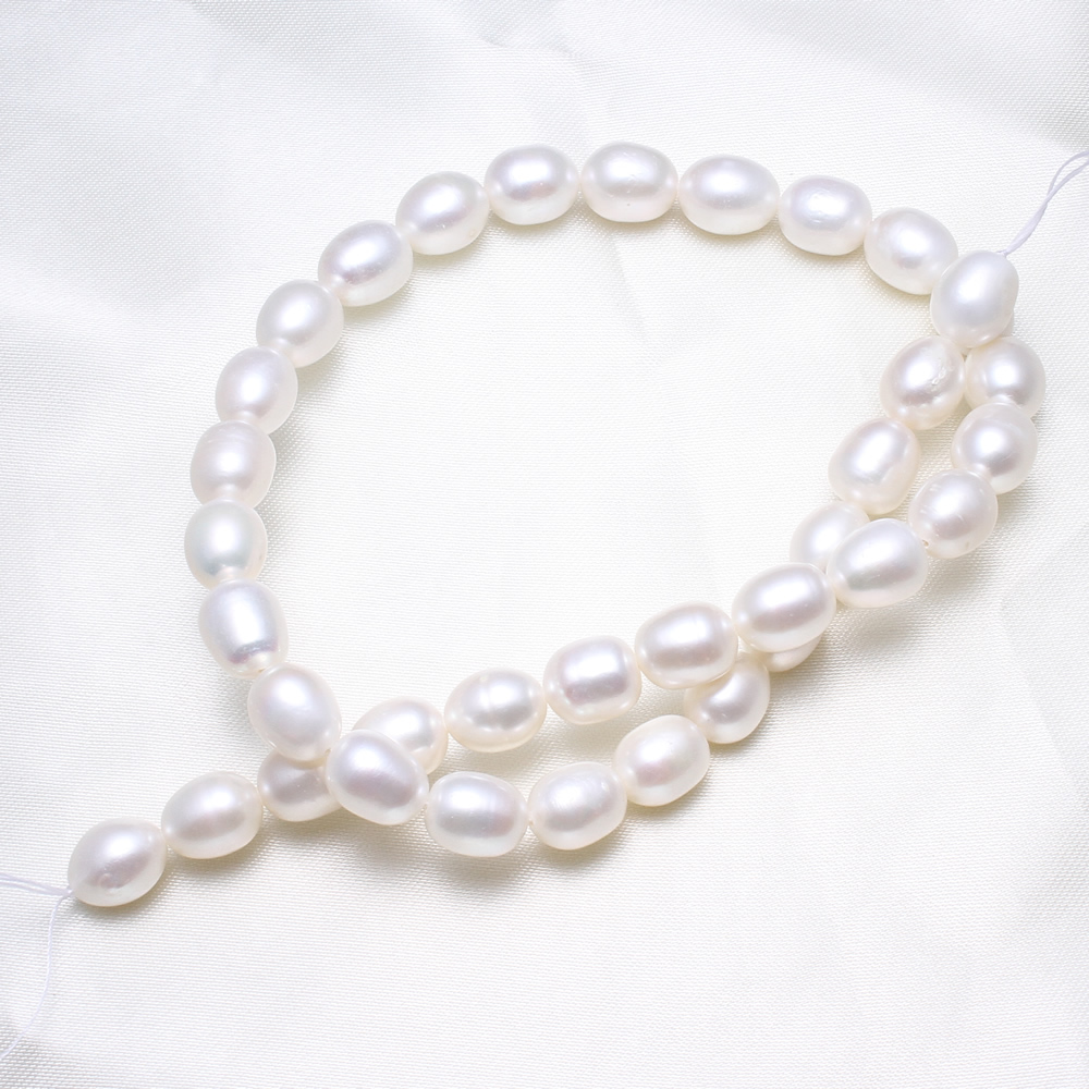 3-4mm Cultured Rice Freshwater Pearl Beads Natural Pink Pearl Jewelry Finding Beads Diy Making Beads Accessories For Bracelets A Great Variety Of Models Jewelry & Accessories