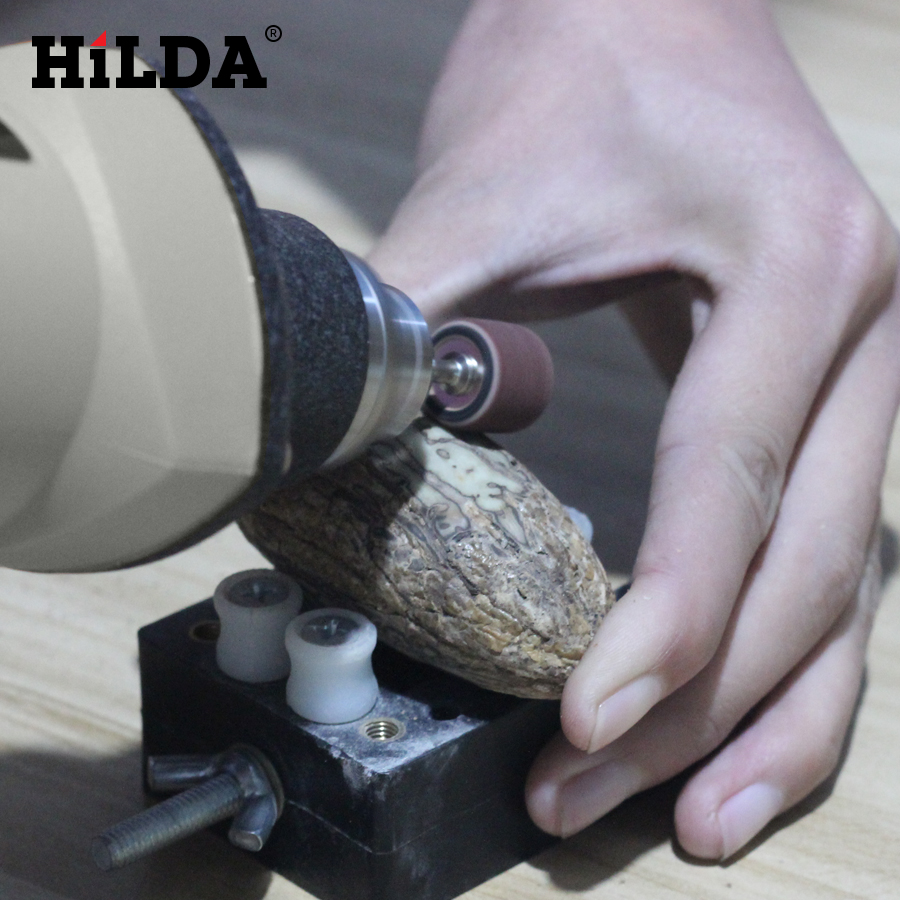 HILDA Electric Power Drills with Copper Motor for Wax Polishing and Seal Engraving 4