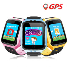 Colmi Q02 GPS Baby Smart Watch With SOS Call Camera Touch Screen Lighting Phone Positioning Location For Children PK Q50 Q90(China)