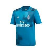 Real madrid 2017 2018 Boy Adidas turquoise polyester Football Shirt soccer jerseys, REAL MADRID SHIRT