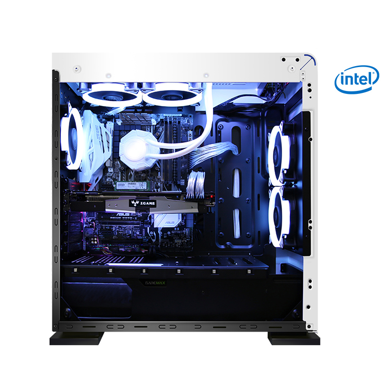 GETWORTH R36 i7 8700 Gaming PC Desktop 240GB SSD GTX 1060 Graphics Card Computer Home Intel 8th Generation CPU 5 Free Fans getworth s2 gaming desktop pc computer for pubg intel i5 8400 gtx 1050ti 4gb b360 motherboard 8gb ram 180gb ssd 5 colorful fans