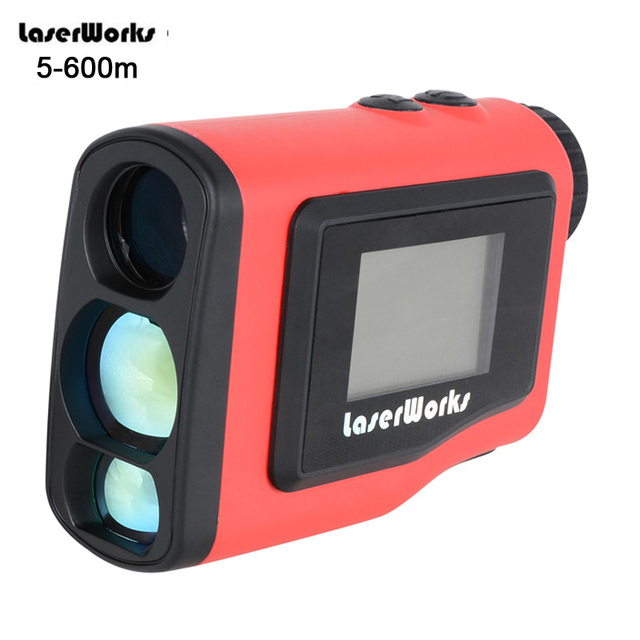 6X21 Laser Rangefinder 600 meters Waterproof Outdoor Golf Laser Range Finder Binoculars Monocular Engineering Angle Measurement