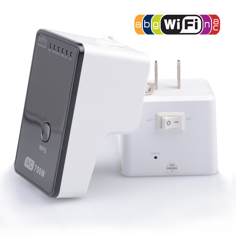 AC01 Universal Wireless Dual Band Wifi Repeater Wifi Range Extender Wifi Router Booster For EU/AU/US/UK plug