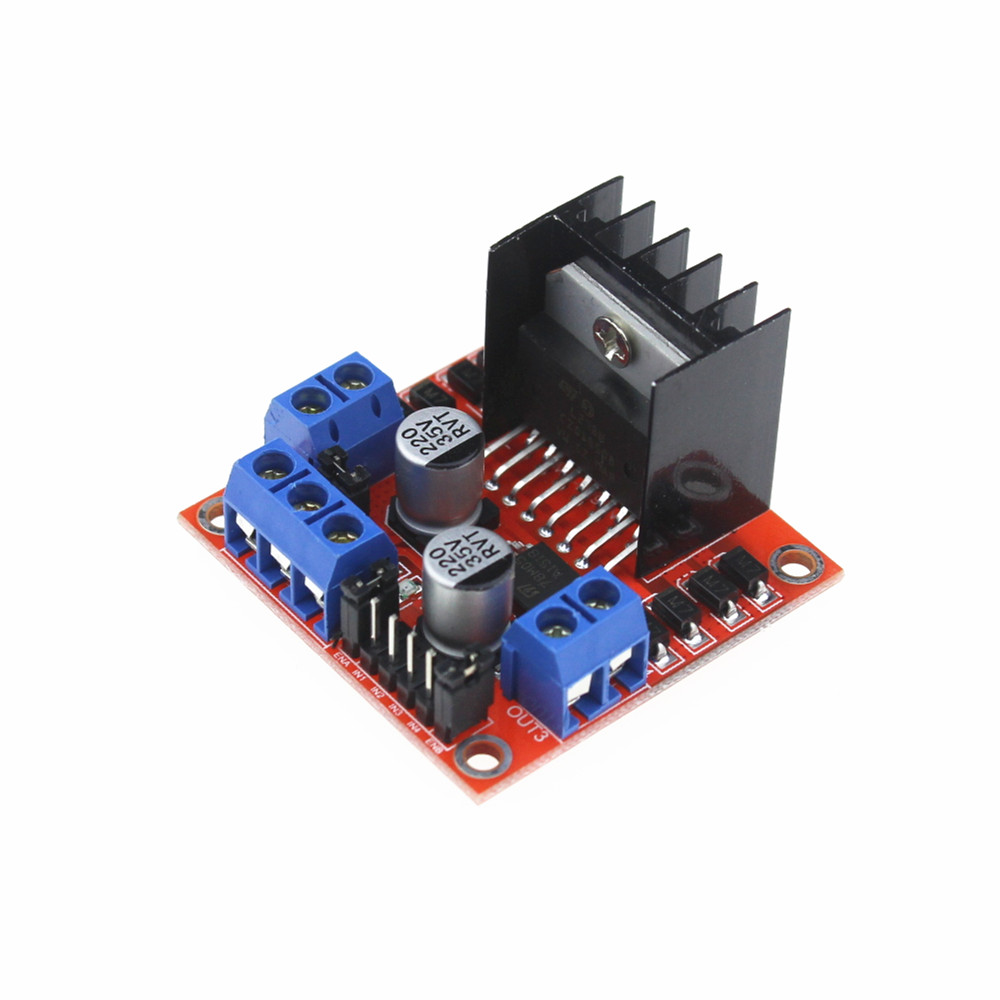 L298n New Dual H Bridge Dc Stepper Motor Drive Controller Board Circuit Module For Arduino Diy Kit In Integrated Circuits From Electronic Components Supplies On