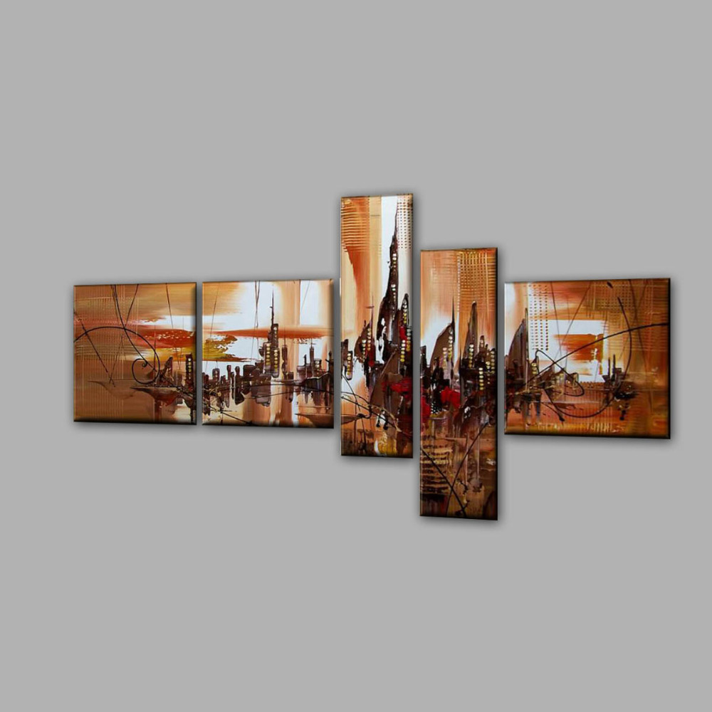 Paintings For Living Room Wall Aliexpresscom Buy Living Room Wall Art Decoration Group Oil