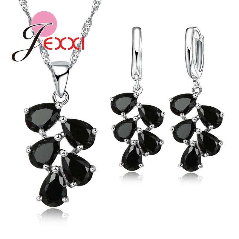 PATICO fijne 925 Sterling zilveren sieraden set voor vrouwen Lady - Mode-sieraden - Foto 4