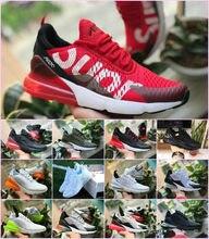 f4f6b68fb New Max Hot Air VaporMax 270 Mens Women Running shoes Flair Triple Black  27C OG PRESTO