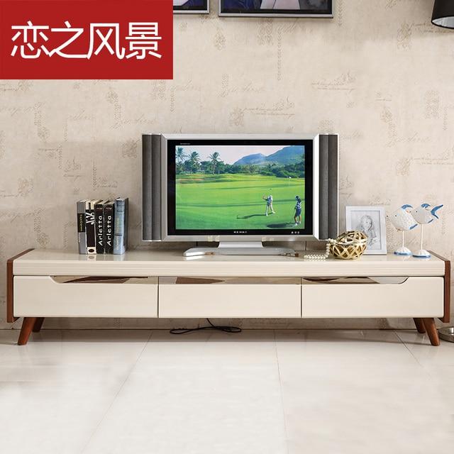 floating landscape painting modern minimalist scandinavian ikea tv cabinet cabinet glass entertainment centers - Glass Entertainment Center