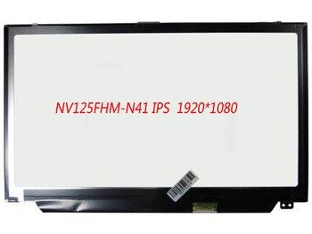 """12.5"""" 1920X1080 FHD Matte 30Pin LED Display LCD Screen Original NEW NV125FHM-N41 NV125FHM N41"""
