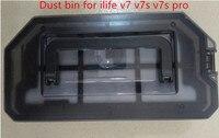 Original Dust Box Bin Primary Filter HEPA Filter For Ilife V7S V7 V7S PRO Robot Vacuum