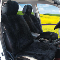 Top Quality Full Set Car Seat Covers Faux Fur Car Interior Accessories Cushion Cover Styling Winter