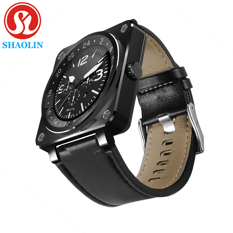 Prix pour SHAOLIN Smart Watch Original Bluetooth Smart Watch sport Santé Smartwatch Moniteur de Fréquence Cardiaque pour apple huawei Android ISO Téléphone