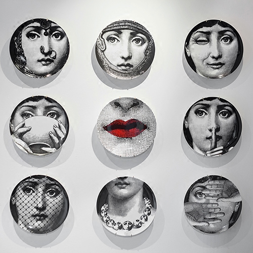 new top fashion milan piero fornasetti plates color hanging dishes sample roomhome