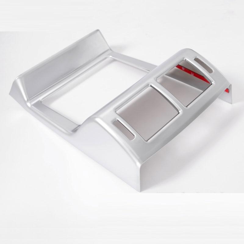 Новый ABS Chrome заднего сиденья кондиционер выходе Рамки Крышка для JAGUAR F-темп F темп x761 автомобиля Интимные аксессуары стиль