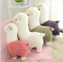high quality 25cm Alpaca Japan Amuse Alpacasso Arpakasso Plush Stuffed Doll Kids Alpaca Christmas Gifts Toy