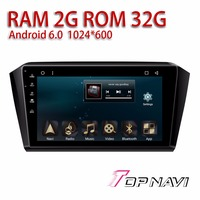 Car Head Unit for VW Magotan 2017 10.1'' Android 6.0 Topnavi Auto Navigation Automotive Stereo with free Map Update Plug&play