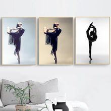 Ballet Dancer Wall Art Canvas Painting Nordic Posters And Prints Scandinavian Pictures For Living Room Bedroom Home Decor